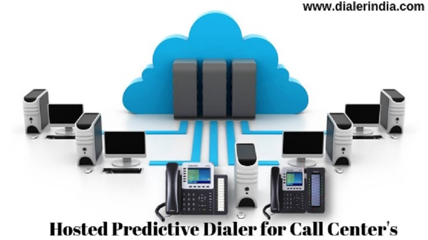 Hosted Predictive Dialer Software for Call Center in India